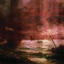 Гибель Помпеи. 1889 год.