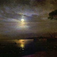 Лунная ночь. 1888 год.