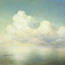 Облака над морем. Штиль. 1889 год.