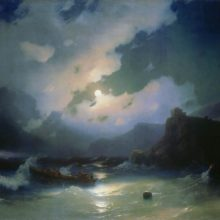 Остров Патмос. 1854 год.