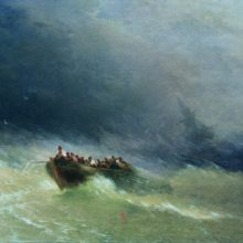 Кораблекрушение. 1880-е год.