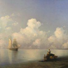 Вечер на море. 1871 год.