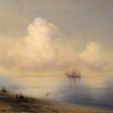 Штиль на море. 1876 год.