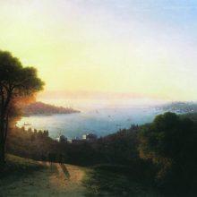 Вид Босфора. 1874 год.