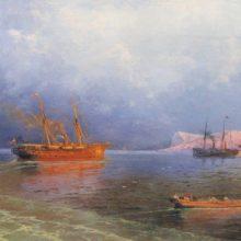 У берегов Ялты. 1894 год.