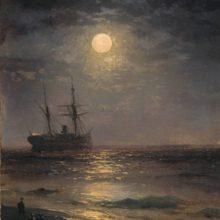 Лунная ночь. 1899 год.
