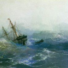 Кораблекрушение. 1894 год.
