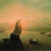 Волга. 1887 год.