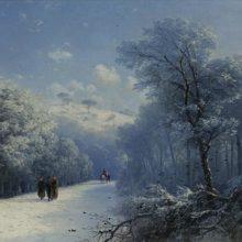 Зимний пейзаж. Частная коллекция