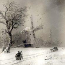 Мельница. 1874 год.